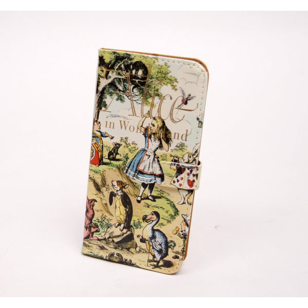 Alice Book phone flip case wallet for iPhone and Samsung - Epethiya