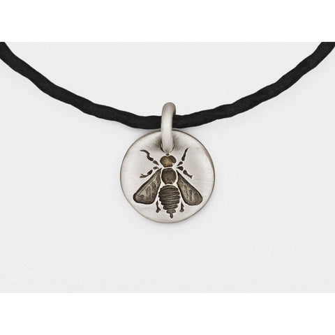 Bee Charm Bracelet in Sterling Silver - Epethiya