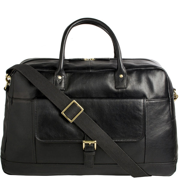 Hunter Cabin Sized Duffel in Classic Leather - Epethiya