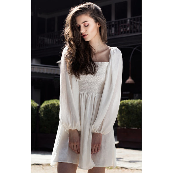 White shirt dress - Bastet Noir