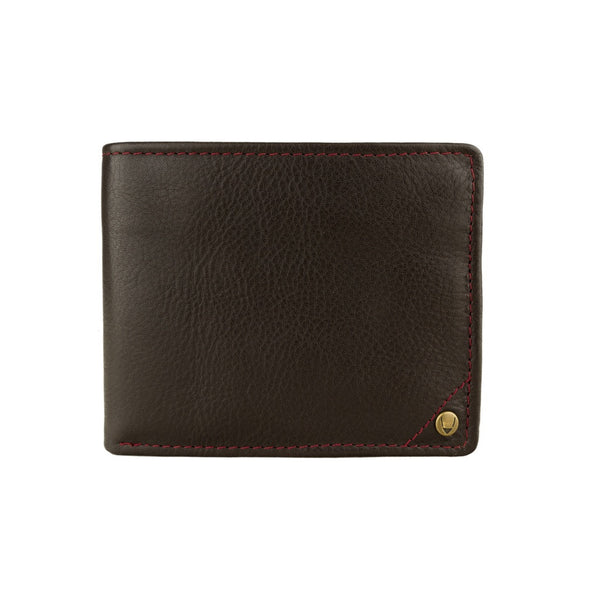 Hidesign Angle Stitch Leather Multi-Compartment Leather Wallet - Epethiya