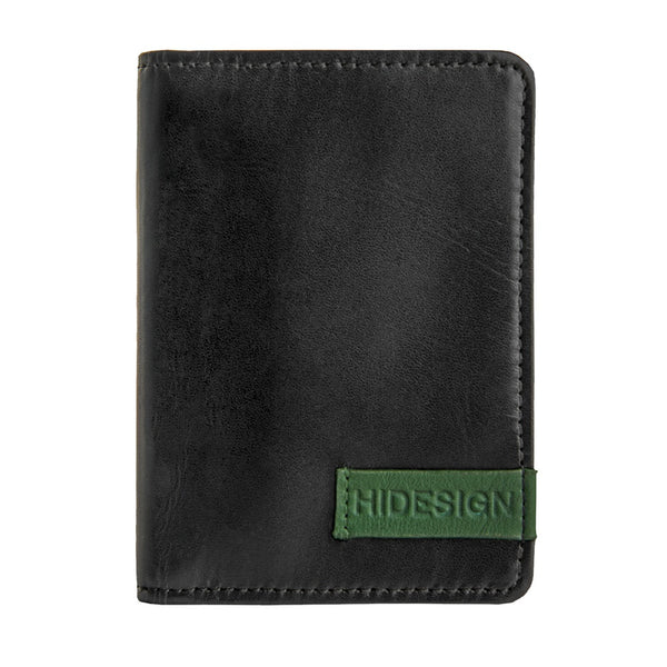 Hidesign Dylan Leather Slim Card Holder with ID Compartment - Epethiya