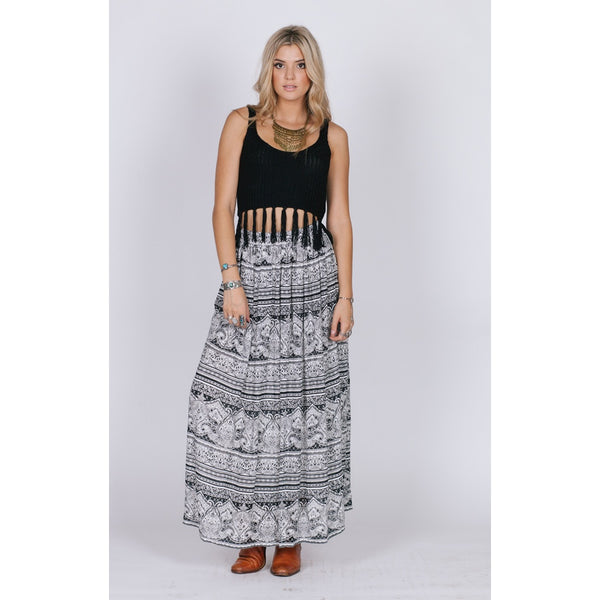 THE LEXI MAXI SKIRT - Epethiya