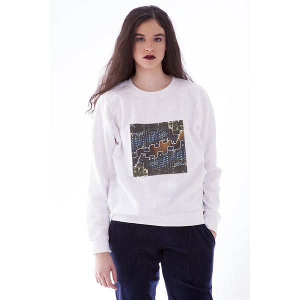 Women's Fashion Sweater - Urban Lights - Epethiya