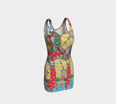 Summer Beauty Bodycon Dress - ePethiya