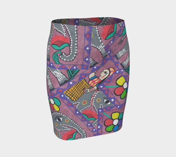 Pink Elephant Fitted skirt - ePethiya