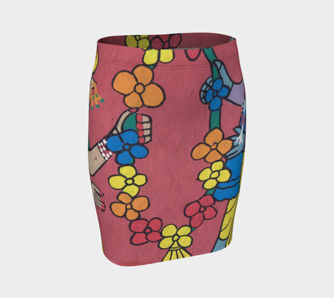 Flower Girl Fitted Skirt - ePethiya