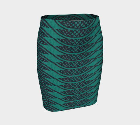 Pretty Snake Fitted Skirt - ePethiya