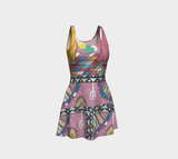 Enlighten with Colors Flare Dress - ePethiya