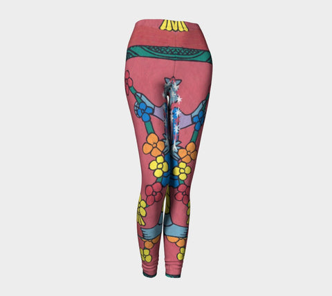 A delicate Flower Legging - Epethiya