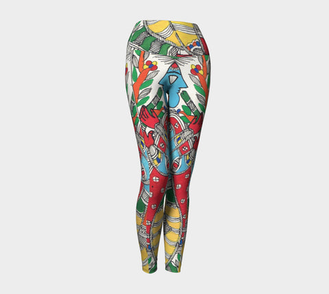 Eyes on the Prize Yoga Legging - Epethiya