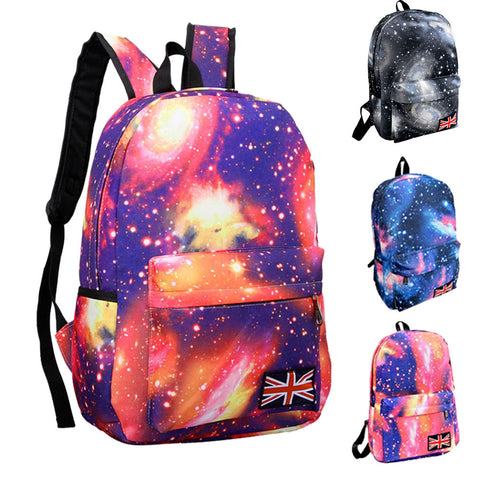 Epethiya Galaxy Pattern Unisex Travel Backpack