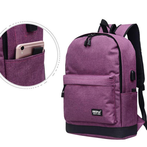 Epethiya Modern USB Backpack