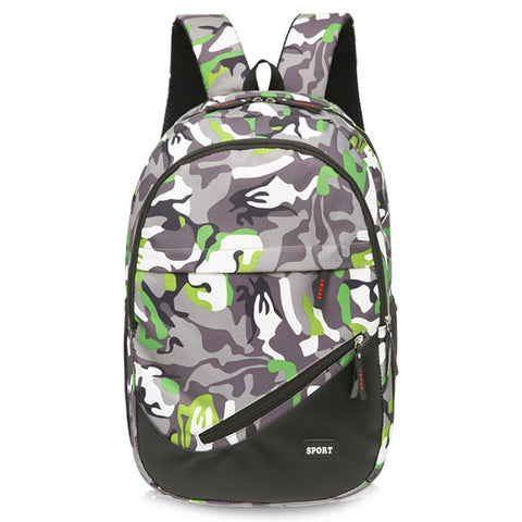 Epethiya Camouflage Satchel School Bag Backpack