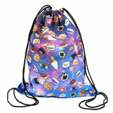 Epethiya Emoji Drawstring Backpack