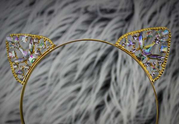 Gold Sphinx Headband