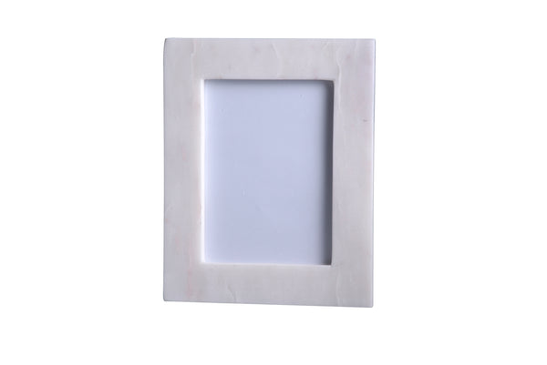 NEW - MARBLE PICTURE FRAMES - WHITE
