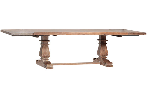VALENCIA DINING TABLE WITH PULL-OUT EXTENSIONS