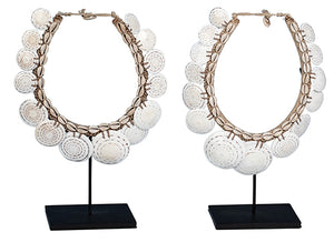 DECORATIVE NECKLACE SET OF 2
