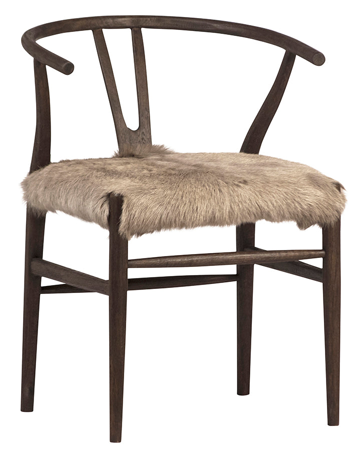 BADEN DINING CHAIR - BROWN