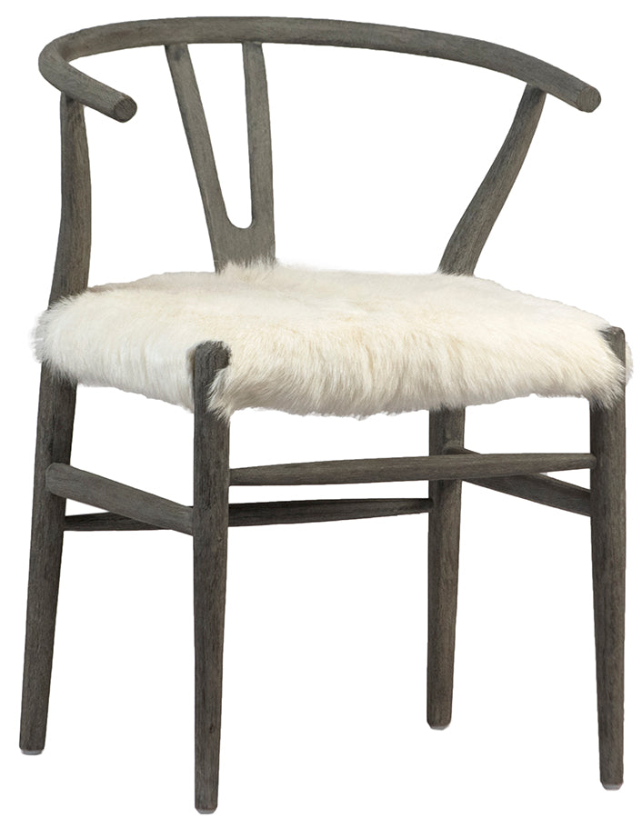 BADEN DINING CHAIR - GREY