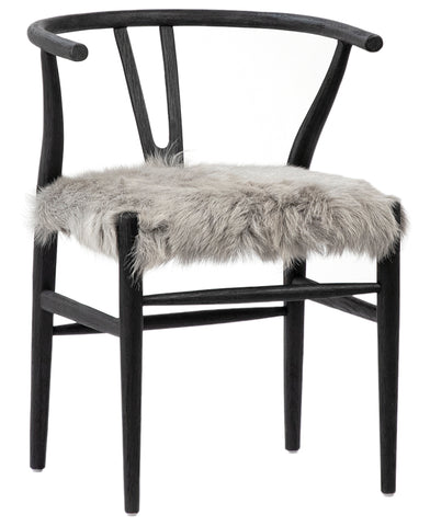 BADEN DINING CHAIR - CHARCOAL