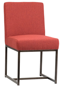 RILEY DINING CHAIR - CORAL