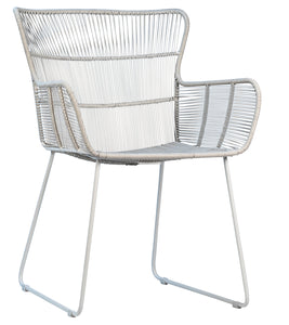 DELFINA DINING CHAIR - WHITE