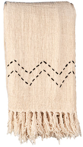 THROW BLANKET -HAND WOVEN