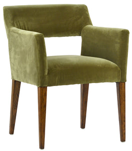 BOOKER DINING CHAIR - GREEN