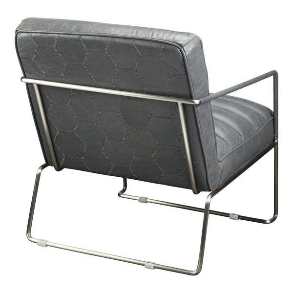 DESMOND CLUB CHAIR GREY
