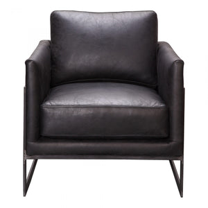 LUXLEY CLUB CHAIR BLACK