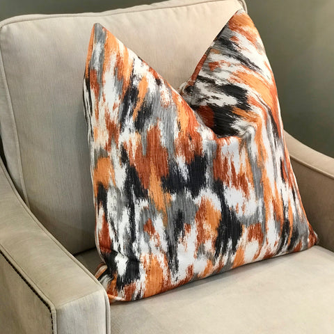 HUNTER SIGNATURE PILLOW - ORANGE