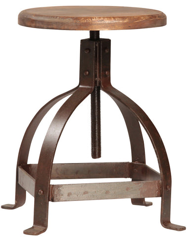 LUKE ADJUSTABLE STOOL
