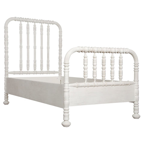BACHELOR BED - WHITE WASH