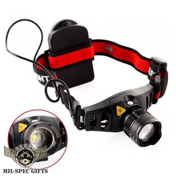 1200 Lumen LED Head Flashlight