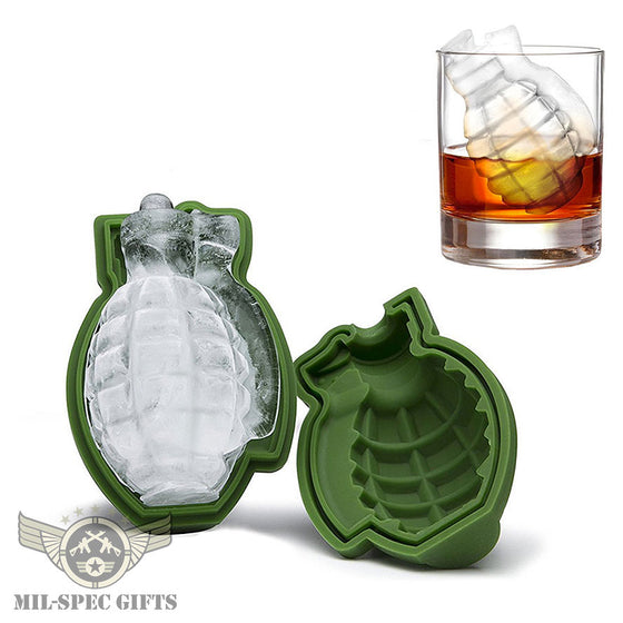 The Icenade™ - The Original Grenade Shape Ice Cube Mold