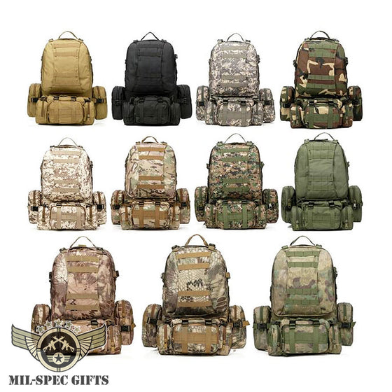 50L Molle Tactical Backpack