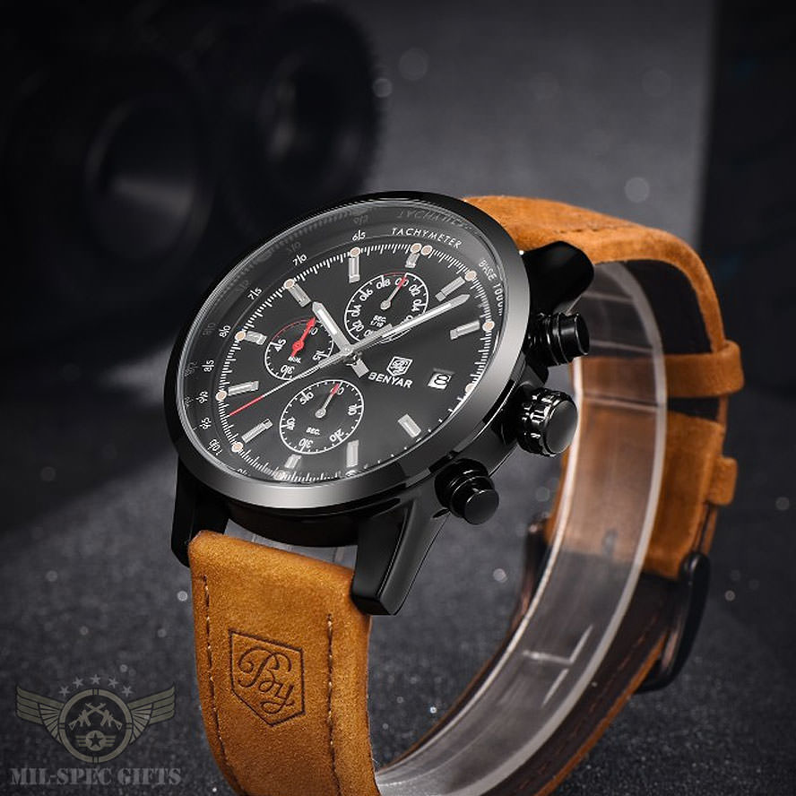 Benyar Military Chronograph Watch (First 300 Customers Only)