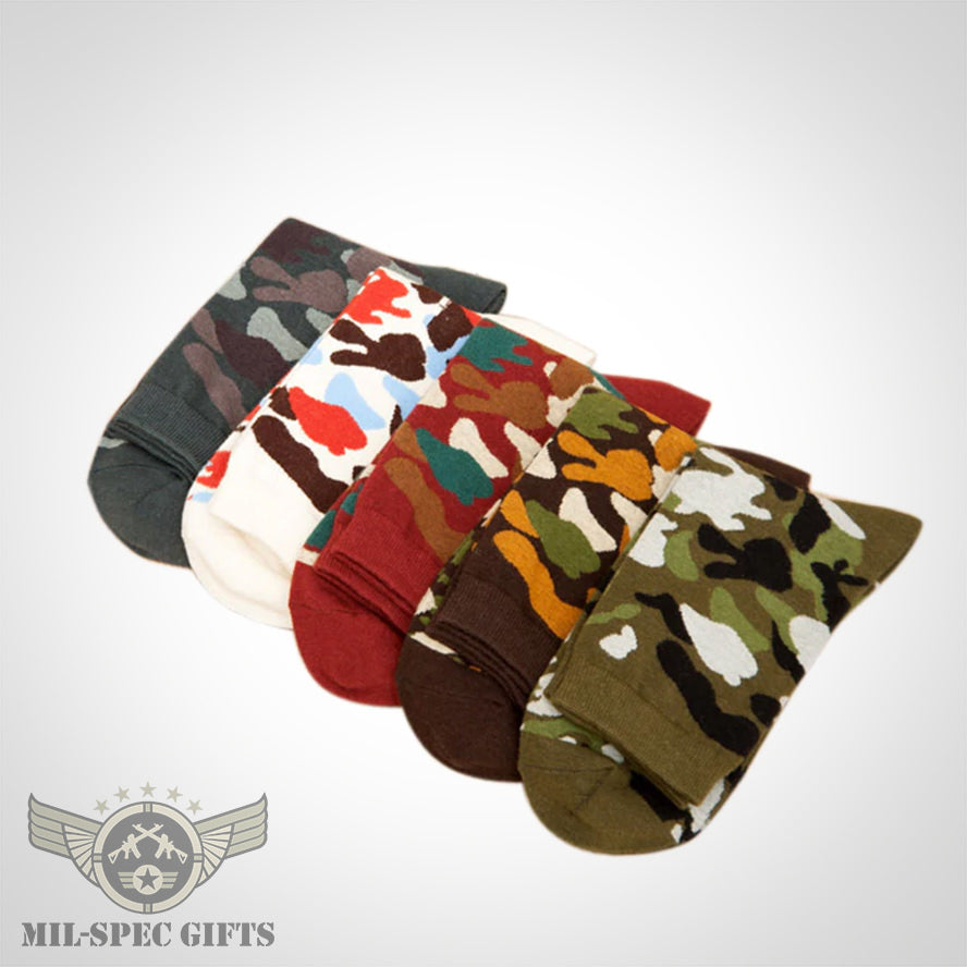 Camouflage Socks - The Perfect Christmas Gift! - MilSpecGifts