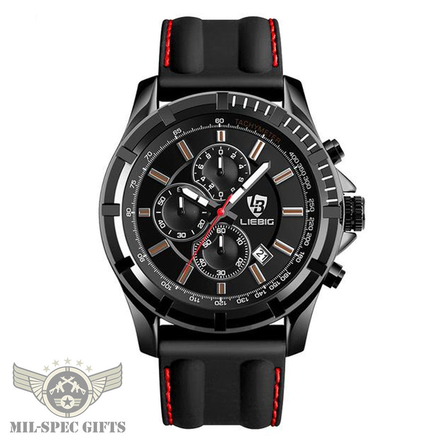 G-Force™ Mens Military Analog Watch (Limited to 1st 300)