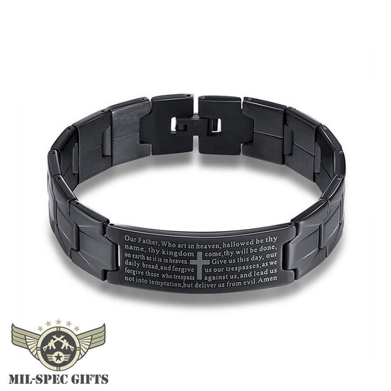 Lords Prayer Bracelet (Buy 2 Get 1 FREE - Add 3 To Cart For Free Item)