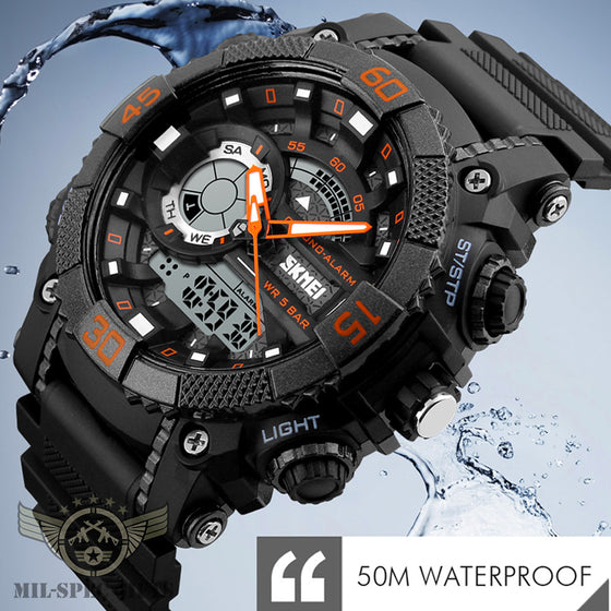 Men's Digital Analog Sports Watch
