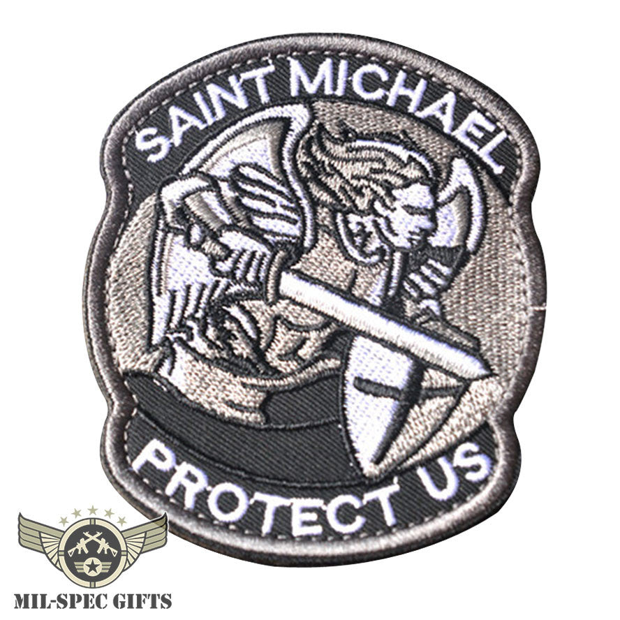 St Michael Protect Us Patch