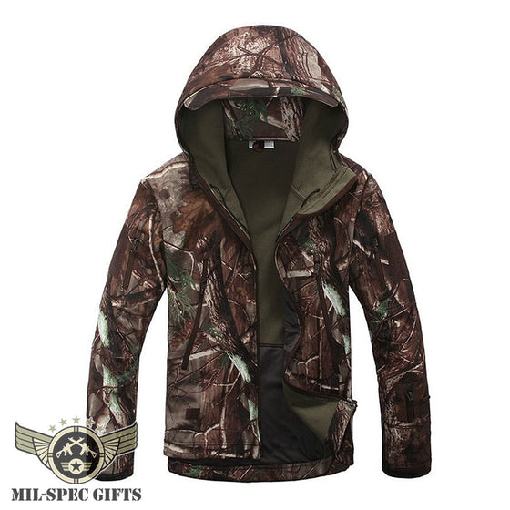 Tactical Waterproof Fleece Jacket