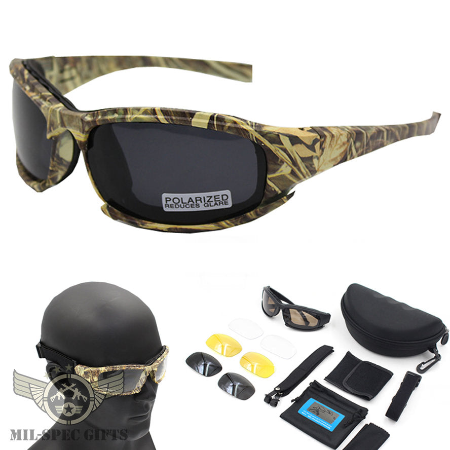 Tactical Polarized Military Sunglasses