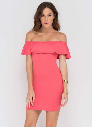 94bebe5da1cd Off the Shoulder Ruffle Bodycon Mini Dress (WDR16032) – TWELVEPLUS