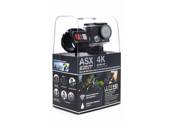 ActionPro Black Edition 4K Ultra HD Wifi Sports Camera Bundle - MCTTC TECH STORES