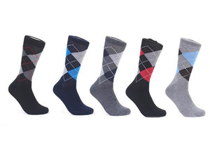 Focus Men's Dress Socks: 12- or 30-Pack - MCTTC TECH STORES