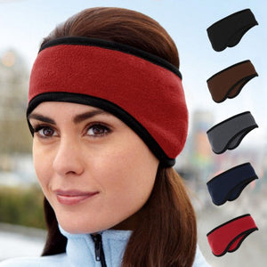 Unisex Two-Tone Fleece Lined Thermal Headband - MCTTC TECH STORES